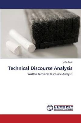 Technical Discourse Analysis (Paperback)