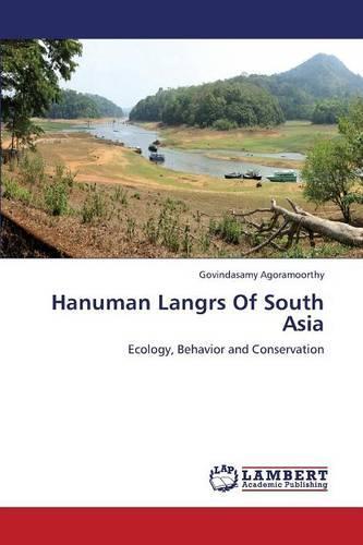 Hanuman Langrs of South Asia (Paperback)