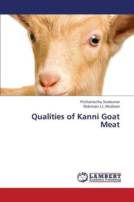 Qualities of Kanni Goat Meat (Paperback)