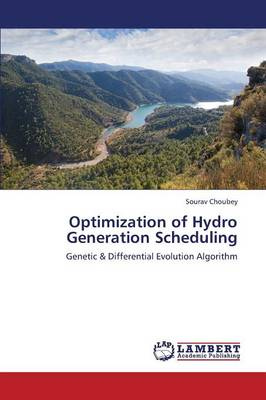 Optimization of Hydro Generation Scheduling (Paperback)