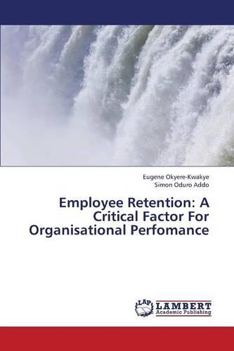 Employee Retention: A Critical Factor for Organisational Perfomance (Paperback)