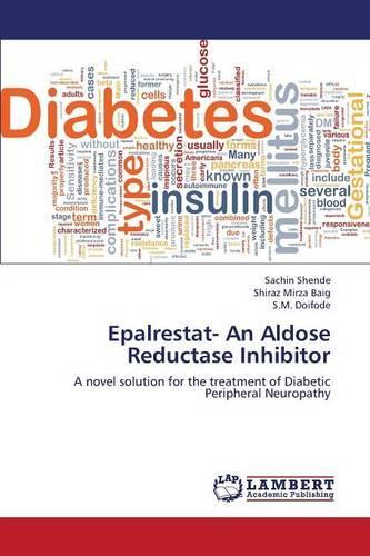 Epalrestat- An Aldose Reductase Inhibitor (Paperback)