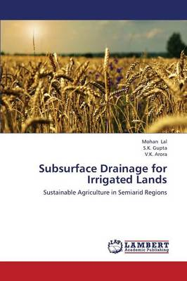 Subsurface Drainage for Irrigated Lands (Paperback)