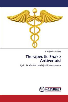 Therapeutic Snake Antivenoid (Paperback)