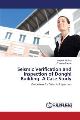 Seismic Verification and Inspection of Donghi Building: A Case Study (Paperback)