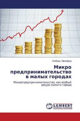 Mikro Predprinimatel'stvo V Malykh Gorodakh (Paperback)