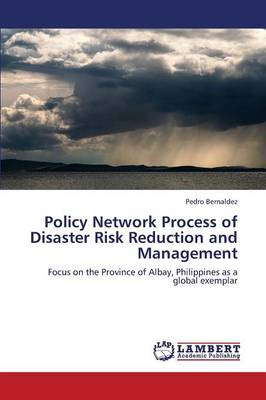 Policy Network Process of Disaster Risk Reduction and Management (Paperback)