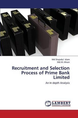 Recruitment and Selection Process of Prime Bank Limited (Paperback)