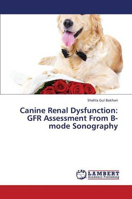 Canine Renal Dysfunction: Gfr Assessment from B-Mode Sonography (Paperback)