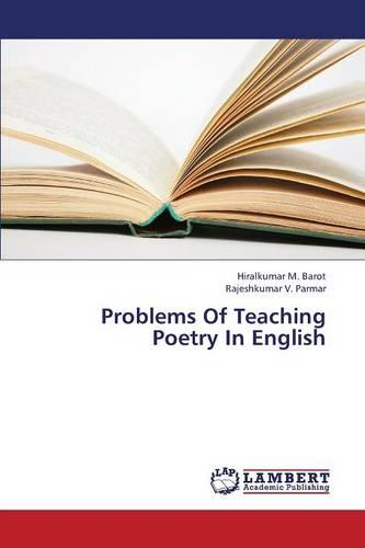 Problems of Teaching Poetry in English (Paperback)