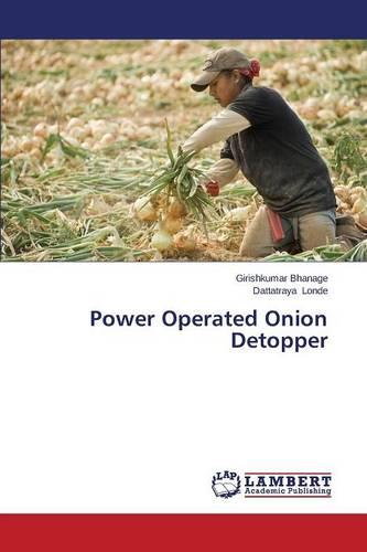 Power Operated Onion Detopper (Paperback)