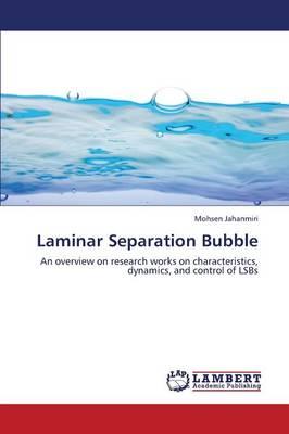 Laminar Separation Bubble (Paperback)