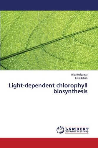 Light-Dependent Chlorophyll Biosynthesis (Paperback)