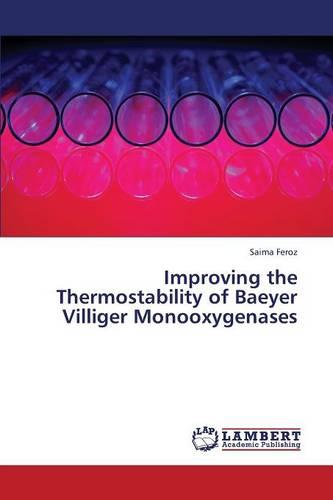 Improving the Thermostability of Baeyer Villiger Monooxygenases (Paperback)