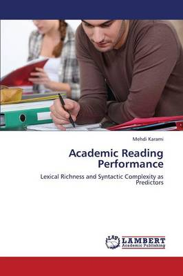 Academic Reading Performance (Paperback)
