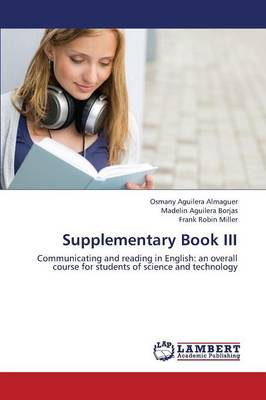 Supplementary Book III (Paperback)