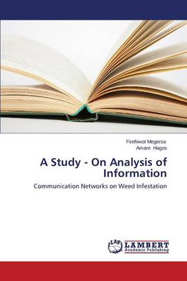 A Study - On Analysis of Information (Paperback)