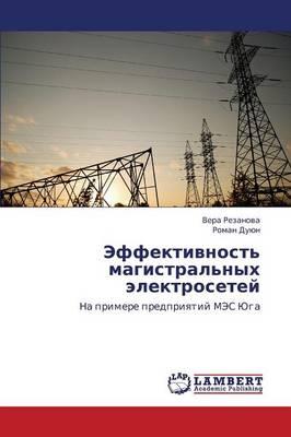 Effektivnost' Magistral'nykh Elektrosetey (Paperback)