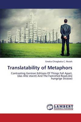 Translatability of Metaphors (Paperback)