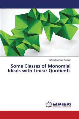 Some Classes of Monomial Ideals with Linear Quotients (Paperback)