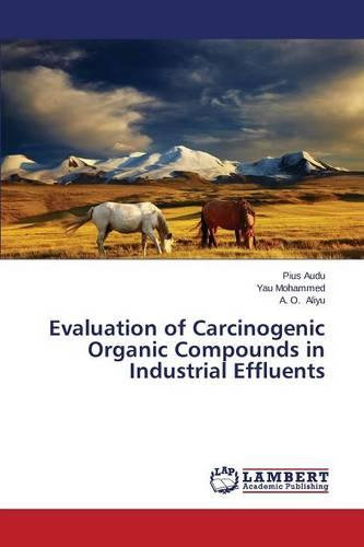 Evaluation of Carcinogenic Organic Compounds in Industrial Effluents (Paperback)