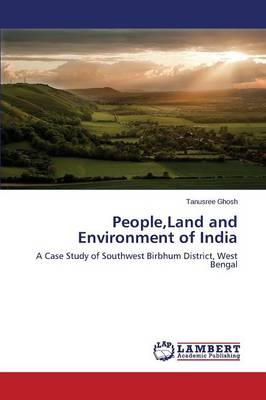 People, Land and Environment of India (Paperback)