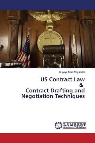 Us Contract Law & Contract Drafting and Negotiation Techniques (Paperback)