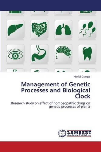Management of Genetic Processes and Biological Clock (Paperback)