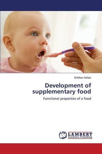 Development of Supplementary Food (Paperback)