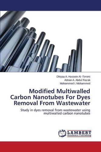 Modified Multiwalled Carbon Nanotubes for Dyes Removal from Wastewater (Paperback)
