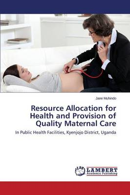 Resource Allocation for Health and Provision of Quality Maternal Care (Paperback)