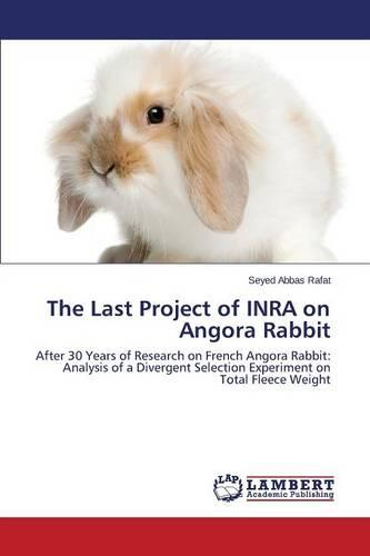 The Last Project of Inra on Angora Rabbit (Paperback)