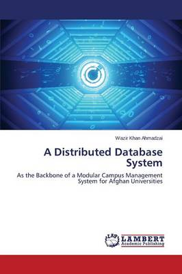 A Distributed Database System (Paperback)