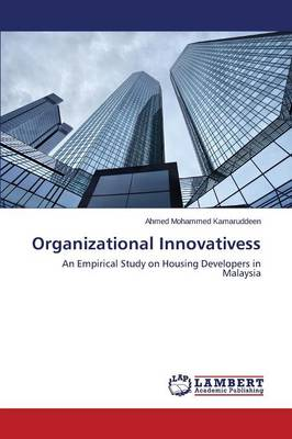 Organizational Innovativeness in the Housing Industry (Paperback)