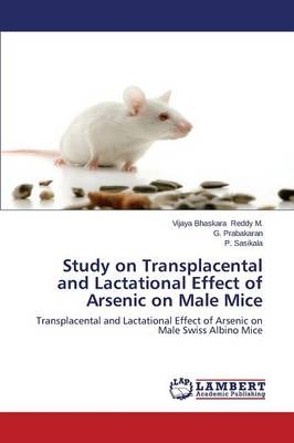 Study on Transplacental and Lactational Effect of Arsenic on Male Mice (Paperback)