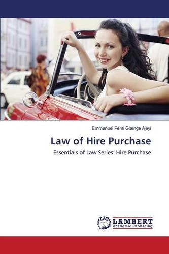Law of Hire Purchase (Paperback)