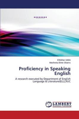 Proficiency in Speaking English (Paperback)