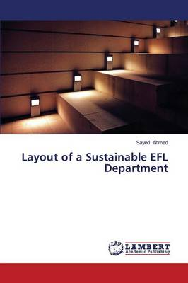 Layout of a Sustainable Efl Department (Paperback)