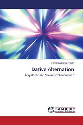 Dative Alternation (Paperback)
