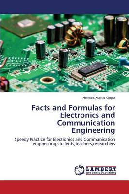Facts and Formulas for Electronics and Communication Engineering (Paperback)