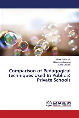 Comparison of Pedagogical Techniques Used in Public & Private Schools (Paperback)