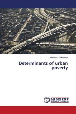 Determinants of Urban Poverty (Paperback)