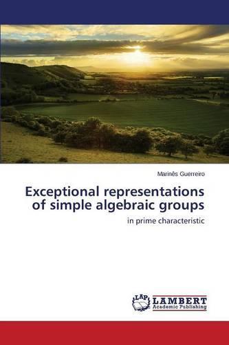 Exceptional Representations of Simple Algebraic Groups (Paperback)