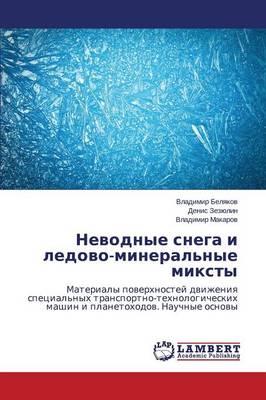Nevodnye Snega I Ledovo-Mineral'nye Miksty (Paperback)