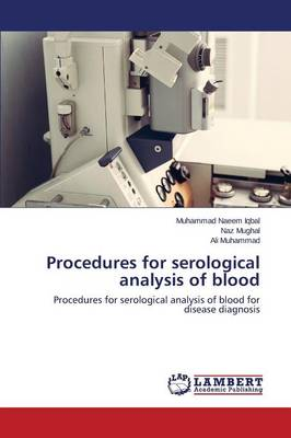 Procedures for Serological Analysis of Blood (Paperback)