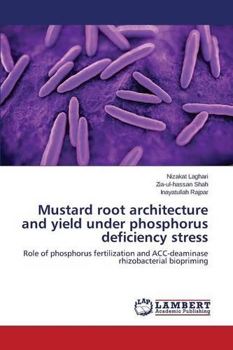 Mustard Root Architecture and Yield Under Phosphorus Deficiency Stress (Paperback)
