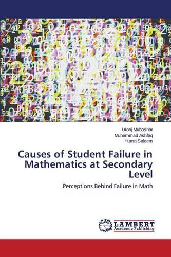 Causes of Student Failure in Mathematics at Secondary Level (Paperback)