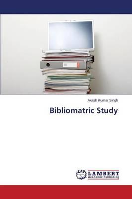 Bibliomatric Study (Paperback)