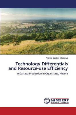 Technology Differentials and Resource-Use Efficiency (Paperback)