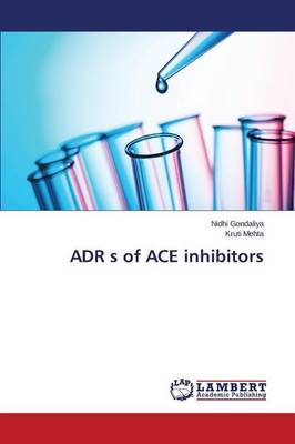 Adr S of Ace Inhibitors (Paperback)
